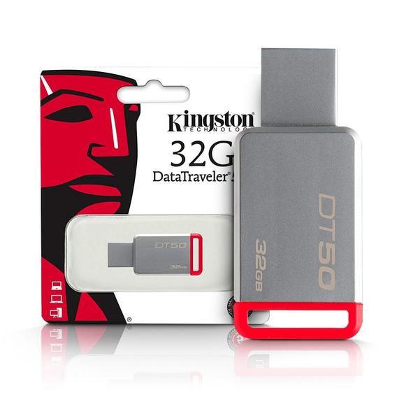 Pen Drive 32gb Usb 3.1 Datatraveler Dt50/32gb Kingston