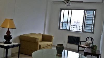 Apartamento Em Gonzaga, Santos/sp De 82m² 2 Quartos Para Locação R$ 2.700,00/mes - Ap220981