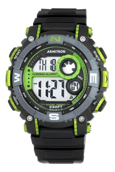 Reloj Deportivo Verde Para Hombre Banda De Resina 554360710