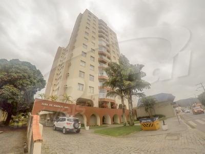 Apartamento No Edifício Ilha De Marajó, Localizado No Bairro Garcia, Com 03 Dormitórios Sendo 01 Suíte, Cozinha Mobiliada E Com Eletro Domésticos, Sala De Estar/ Jantar Com Mobília, Banheiro Social,
