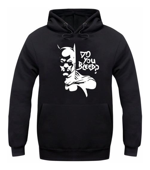 Moletom Agasalho Canguru Batman Herois Roupa De Frio