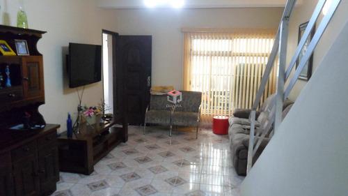 Imagem 1 de 21 de Sobrado À Venda, 3 Quartos, 2 Vagas, Jardim Do Mar - São Bernardo Do Campo/sp - 73490