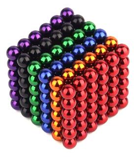 216pcs Puzzle Cubo Multicolor 3mm Magnético Bola Diy Juguete