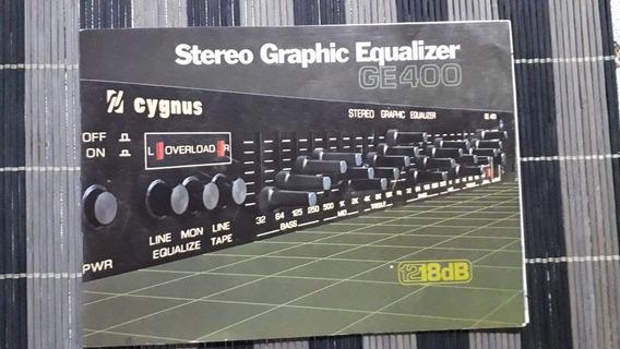 Manual Cygnus Ge400 Original Impecável