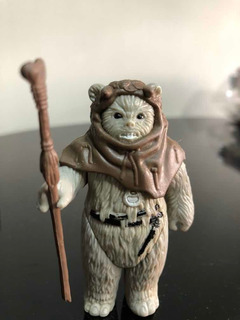 Star Wars Vintage Kenner Rotj 1983 Chief Chirpa Ewok V23