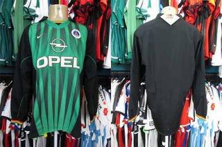 Paris Saint Germain 1997 Camisa De Goleiro Tamanho Gg.