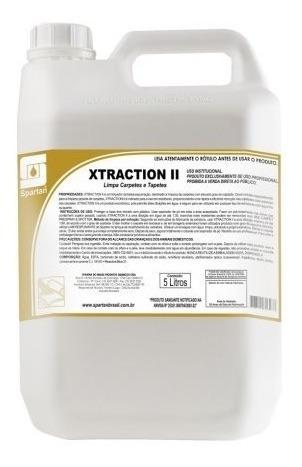 Detergente Para Carpetes E Estofados 5 Litros Xtraction Ii
