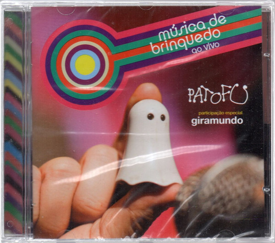 Cd Pato Fu Música De Brinquedo Original Lacrado
