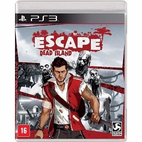 Escape Dead Island - Midia Fisica Original E Lacrado - Ps3
