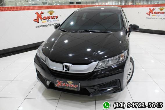 Honda City Dx 1.5 Aut Preto 2017 Financiamento Próprio 6283