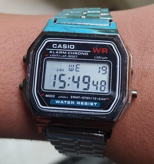 Relógio Unissex Modelo A158 Top De Pulso
