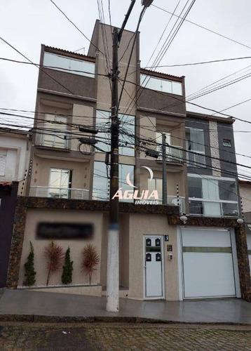 Apartamento Com 2 Dormitórios À Venda, 70 M² Por R$ 320.000,00 - Jardim Progresso - Santo André/sp - Ap2720