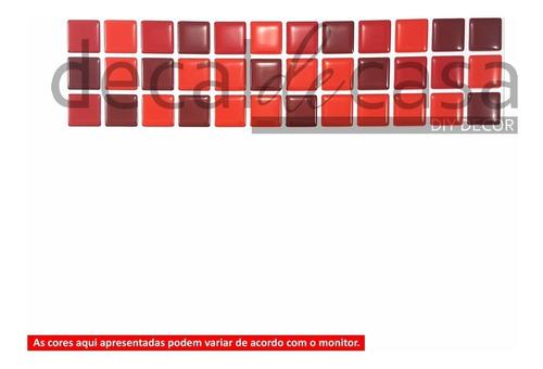 Imagem 1 de 2 de Kit 20 Faixas - Pastilha Adesiva Resinada - 31,4 X 7,8 Cm