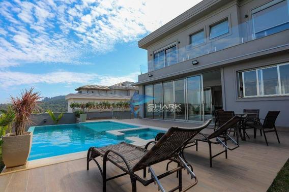 Casa Com 4 Dormitórios À Venda, 555 M² Por R$ 4.200.000 - Tamboré 10 - Santana De Parnaíba/sp - Ca0054