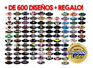 Pack Vectores Sublimación Tapabocas Barbijos + 600 Diseños!