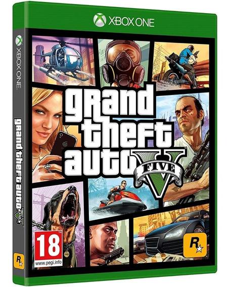 Jogo Gta 5 Xbox One Disco Físico Lacrado Português Barato Br