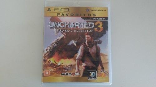 Jogo Uncharted 3 Do Ps3 Origina
