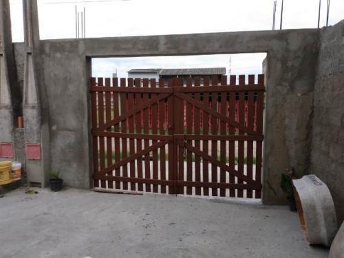 Imagem 1 de 9 de Casa Geminada Semi-acabada No Bairro Gaivota , Itanhaém 7970