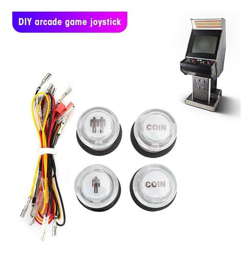 Imagen 1 de 5 de Joystick Botón Para Maquina Arcade