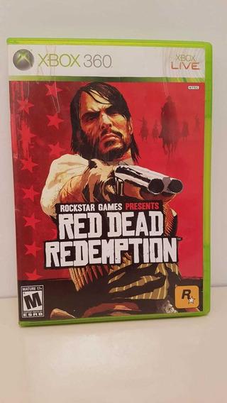 Red Dead Redemption Xbox 360 Midia Física Original P/entrega