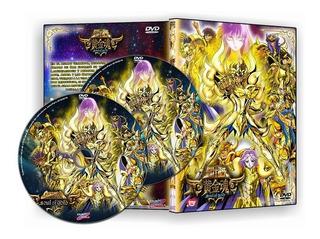 Cavaleiros Do Zodiaco Alma De Ouro Em Dvd