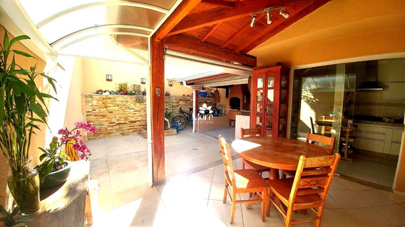 Venda De Casa Modelo Clara Ampliada Com 3 Quartos, Sendo 1 Suíte Com Closet, Imóvel Rico Em Planejados, Em Condomínio No Villa Flora Em Sumaré Sp - Ca00698 - 34168090