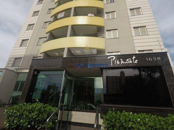 Apartamento Com 3 Dormitórios À Venda, 92 M² Por R$ 380.000,00 - Centro - Londrina/pr - Ap0730