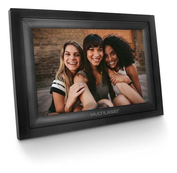 Porta Retrato Digital Wi-fi Lcd 7 Pol. Touch Usb + Cartao Sd