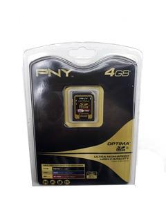 Cartao De Memoria Sd Hc 4gb Pny P-sdhc4g4-fs Kit 10 Unidades