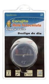 Relé Fotocélula Corujito Externo Bivolt Qualitronix Qr51