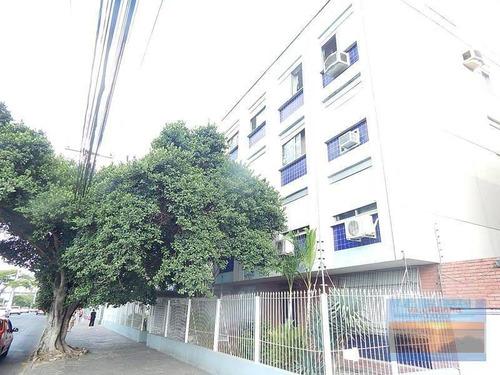 Apartamento 02 Dormitórios Com 60m² No Bairro Menino Deus Com Vaga À Venda, Por R$ 190.000 - Ap1607