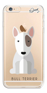 Capa Case Capinha iPhone 6 Plus - Bull Terrier