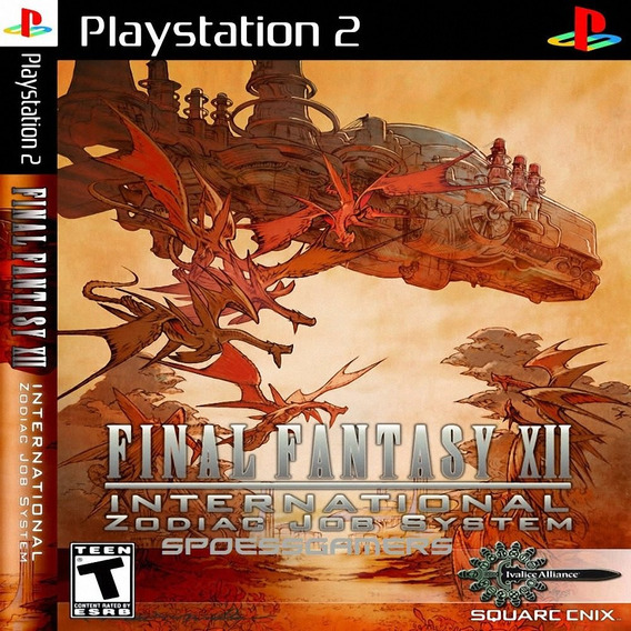Final Fantasy Xii Internacional Ps2 Desbloqueado Patch