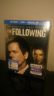 Blu Ray Serie The Following Season 1 (con Cover) Sellado