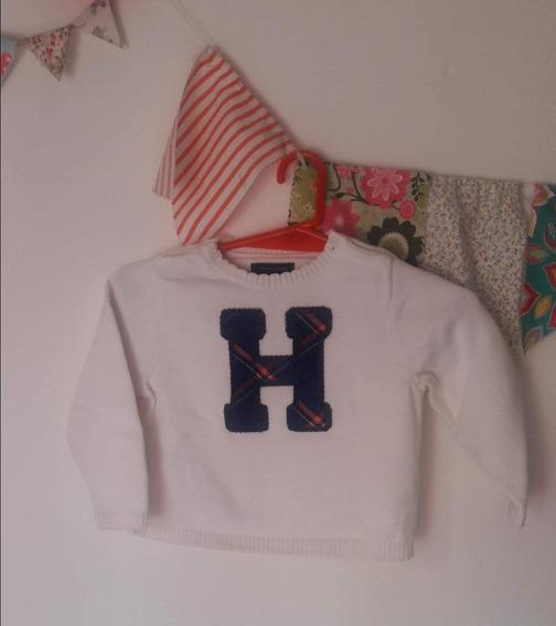 Sweater De Hilo Tommy Talle 2t