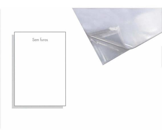 Saco Plastico Acp 0.12 Sem Furo A4 (230x310) Com 100 Un.