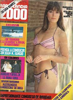 Radiolandia 2000 Nº 2627 Año 1978 Margarita Gralia Z10