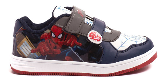 Zapatillas Atomik Marvel Infinity Spiderman-mvl007bla- Open