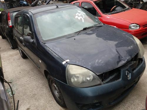 Sucata Renault Clio 1.6 16v Ano 2006 (somente Peças)