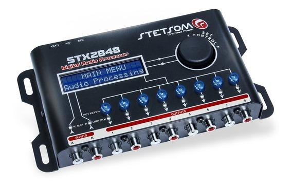 Processador De Audio Stetsom Stx2848 Digital 8 Canais Lançam
