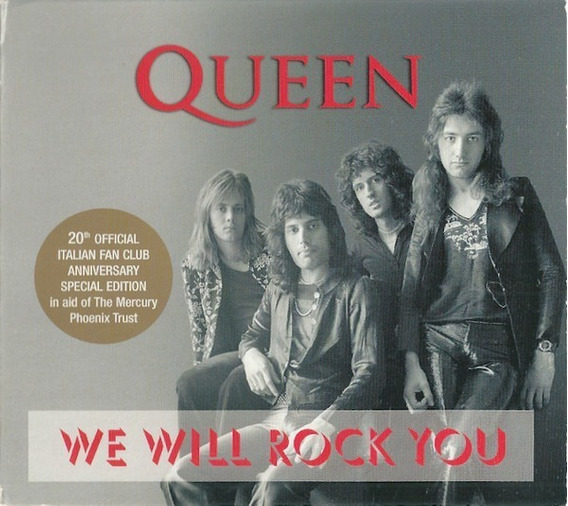 Cd Queen We Will Rock You - Limited Edition Fã Clube Italia