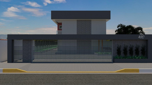 Imagem 1 de 1 de Casa Para Venda Em Itanhaém, Belas Artes, 2 Dormitórios, 2 Suítes, 1 Banheiro, 1 Vaga - It420_2-1104465