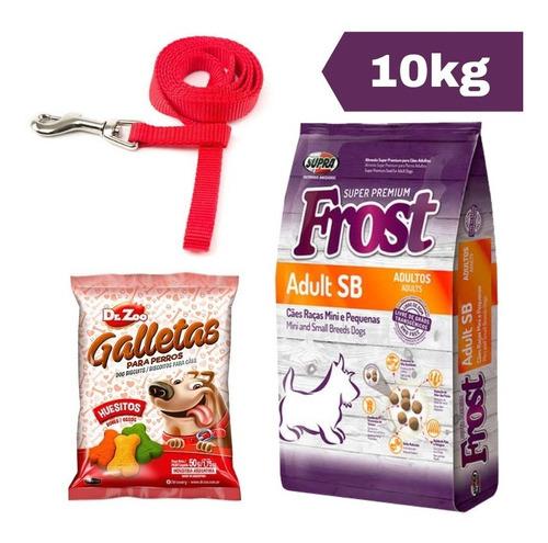 Imagen 1 de 2 de Frost Adulto Sb 10 Kg + Correa + Snacks + Envío Gratis!