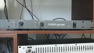 Potencia Ampli Phonic Max 500 Impecable La Plata Tomo Audio