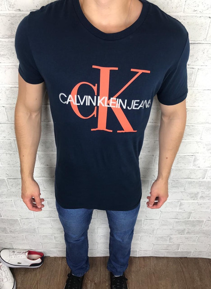 Camiseta Masculina Original Calvin Klein Promoção