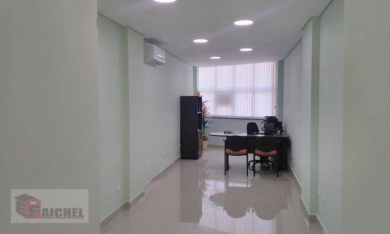 Sala À Venda, 35 M² Por R$ 170.000,00 - Fundação - São Caetano Do Sul/sp - Sa0068