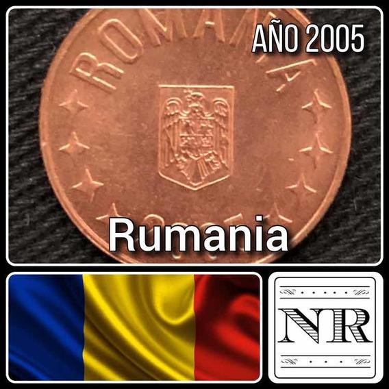 Rumania - 5 Bani - Año 2005 - Km # 190 - Aguila + Estrellas