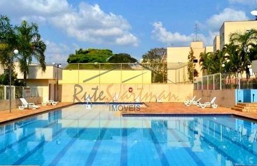 Imagem 1 de 30 de Apartamento À Venda, 54 M² Por R$ 215.000,00 - Vila Castelo Branco - Campinas/sp - Ap1146