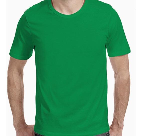Remera Verde Lisa 100% Algodón 24/1 |de Hoy No Pasa|