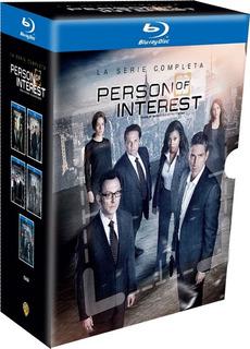 Person Of Interest Serie Completa Blu Ray Nueva Original